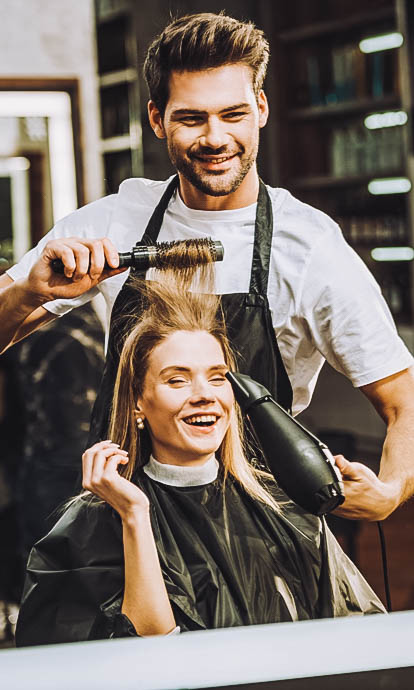Queue management systems for hairdressers